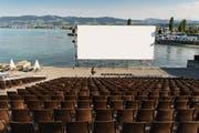 Seit über 20 Jahren am See: Das Open-Air-Kino in Arbon. (Bild: Michel Canonica)