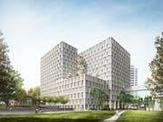 Der Grossauftrag für die Lüftungs- und Klimaanlagen des Neubaus Inselspital Bern ist ein weiterer Meilenstein für die Lippuner EMT. (Bild: Insespital)