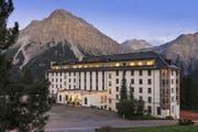 Das Hotel Altein in Arosa.