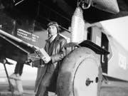 Der St. Galler Pilot und Unternehmer Walter Mittelholzer wurde berühmt mit abenteuerlichen Expeditionsflügen. Das Landesmuseum in Zürich zeigt seine Fotografien vom 20. Juli bis 7. Oktober 2018. (Bild: ETH-Bibliothek Zürich, Bildarchiv)