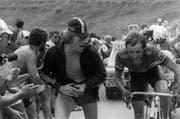 1982 fuhr Beat Breu an der Tour de France allen davon. (Bild: AFP Photo)