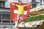 Schwede und «Wahl-Schweizer»: Niklas Danielson vor seiner Skilodge in Engelberg. (Bild: PD)
