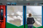 Trübe Aussicht: Die neuen Preise für die Fahrt mit der Säntisbahn auf den Gipfel geben zu reden. (Bild: Urs Bucher)