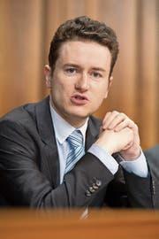Der Neuenburger FDP-Ständerat Raphaël Comte sitzt seit 2010 in der kleinen Kammer. (Bild: Anthony Anex/KEY (Bern, 19. September 2017))