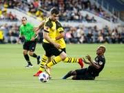 Der Grieche Sokratis verteidigt in Zukunft für Arsenal und nicht mehr für Dortmund (Bild: KEYSTONE/FR170512 AP/RINGO H.W. CHIU)