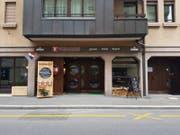 Das Restaurant Weinhof an der Weystrasse 12 in Luzern, kurz nach der Eröffnung im vergangenen Herbst. (Bild: Ramona Geiger (Luzern 4. September 2017))