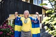 Wenn Schweden spielt, fiebert Jessica Svahn Bold mit - Schweizer Pass hin oder her.