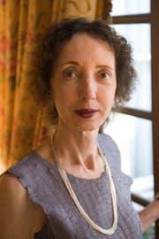 US-Autorin Joyce Carol Oates. (Bild: Keystone)
