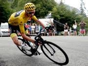 Die UCI stellt das Dopingverfahren gegen Christopher Froome ein (Bild: KEYSTONE/EPA/YOAN VALAT)