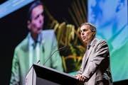 Ignazio Cassis sorgt mit seinen Äusserungen für Wirbel in der Landesregierung.