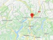 Die Bauarbeiter verstarben noch auf der Unfallstelle in Camorino in der Nähe von Bellinzona. (Bild: Google Maps)