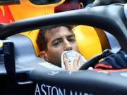 Daniel Ricciardo im Cockpit seines Red Bull-Renault (Bild: KEYSTONE/AP/JENS MEYER)