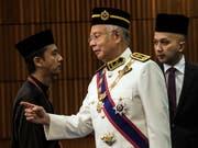 Die Finanzmarktaufsicht Finma hat im Zusammenhang mit dem Korruptionsfall um den malaysischen Staatsfonds 1MDB schwere Verstösse der Rothschild Bank gegen die Geldwäschereivorschriften festgestellt. Im Zentrum des Skandals steht der frühere malayische Premier Najib Razak. (Bild: KEYSTONE/EPA/AHMAD YUSNI)