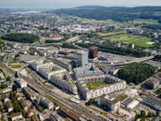 Auch in Wallisellen, nord-östlich von Zürich, ist mit dem Richti-Areal innerhalb von wenigen Jahren ein Quartier entstanden, das man eher in einer Grossstadt vermuten würde. (Bild: PD)