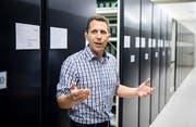 Adrian Oettli ist Leiter Archivdienst für Gemeinden beim Thurgauer Staatsarchiv. (Bild: Reto Martin)