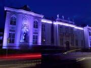 Die Stiftung Mozarteum, eine der Spielstätten, an denen die Salzburger Festspiele vom 20. Juli bis 30. August stattfinden. (Bild: Keystone/APA/APA/BARBARA GINDL)