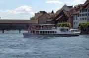 Wer von Diessenhofen nach Stein am Rhein gelangen will, muss ab Sonntag vorläufig auf das Schiff als Transportmittel verzichten. (Archivbild: Nana do Carmo)