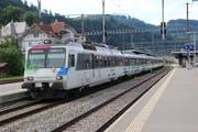 Übers Wochenende verkehrt der Voralpen-Express zwischen Wattwil und Uznach nicht. (Bild: Martin Knoepfel)