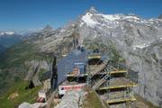 Die Hüfihütte der SAC-Sektion Pilatus wird momentan für 1,3 Millionen Franken einer Sanierung unterzogen. (Bild: Dominik Wunderli, Bristen, 18. Juli 2018