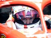 Sebastian Vettel hatte im Qualifying den besten Durchblick (Bild: KEYSTONE/AP/JENS MEYER)