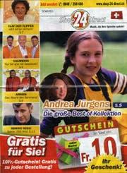 Das Titelblatt des Katalogs von Shop24Direct. (Bild: SGT)