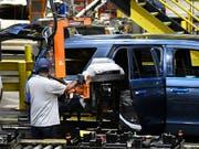 Unter den im Internet aufgetauchten Angaben zu den Autobauern waren auch streng gehütete Geheimnisse etwa zu Produktionsabläufen. (Bild: KEYSTONE/FR43398 AP/TIMOTHY D. EASLEY)