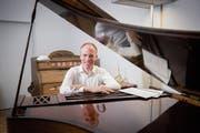 Der Organist und Pianist Bernhard Ruchti ist künstlerischer Leiter der Laurenzen-Konzerte in St.Gallen. (Bild: Urs Bucher)