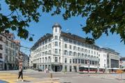 Das Haus Hecht ist Hauptstandort des Kreisgerichts St.Gallen. Der Hotel-Charakter ist in den Gängen immer noch spürbar. (Bild: Hanspeter Schiess)