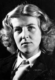 Lore Berger 1942. Sie verstarb im Jahr darauf im Alter von 21 Jahren. (Bild: Nachlass Lore Berger/Louis-Edgar Berger)