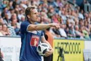 Christian Schwegler nach der Heimniederlage gegen Xamax: «Ich hasse es, zu verlieren.» (Bild: Martin Meienberger/Freshfocus (Luzern, 21. Juli 2018))