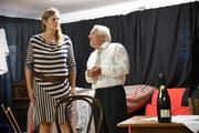 Bigna Körner und Walter Andreas Müller spielen ein Ehepaar. (Bild: Rita Kohn)