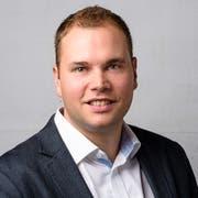 SVP-Stadtparlamentarier Benjamin Büsser.
