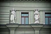 Das Gebäude des Bundesgerichts in Luzern. (Bild: Dominik Wunderli (Luzern, 6. November 2014))