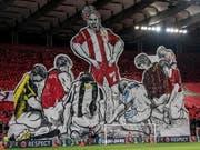 Luzern erwartet in der Europa-League-Qualifikation ein Gastspiel bei den heissblütigen Fans von Olympiakos Piräus (Bild: KEYSTONE/EPA ANA-MPA/PANAGIOTIS MOSCHANDREOU)