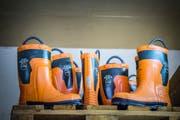 Material am Hauptstandort der Zivilschutzorganisation Frauenfeld. (Bild: Andrea Stalder)