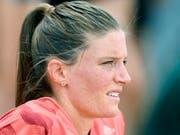 Lea Sprunger konzentriert sich an der EM in Berlin auf die 400 m Hürden (Bild: KEYSTONE/WALTER BIERI)
