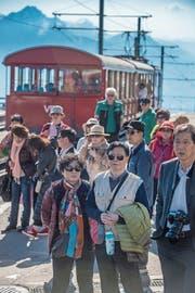 850000 Touristen besuchten die Rigi im vergangenen Jahr. (Bild: Boris Bürgisser (20. April 2018))
