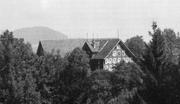 Nachdem die Fassade des Gehöfts Bild im Jahr 1912 geändert wurde, sah das Gebäude so aus wie auf diesem historischen Foto. (Bild: PD)