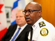 Der Polizeichef von Toronto, Mark Saunders, hat sich mit weiteren Details zur Schiesserei am Montag an die Öffentlichkeit gewandt. (Bild: KEYSTONE/AP The Canadian Press/NICK KOZAK)