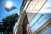 Das Luzerner Kantonsgericht am Hirschengraben 16 in Luzern. (Bild: Pius Amrein)
