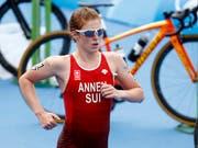 Triathletin Jolanda Annen muss sich weiter gedulden (Bild: KEYSTONE/PETER KLAUNZER)