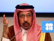 Der Energieminister Saudi-Arabiens und einstige langjährige Chef des Erdölkonzerns Saudi Aramco, Khalid al-Falih, reagiert auf Angriffe auf die Tankerflotte seines Königreiches. (Bild: KEYSTONE/AP/RONALD ZAK)