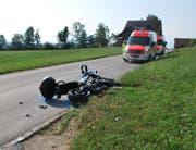 Die Ambulanz musste ausrücken. (Bild: Luzerner Polizei)