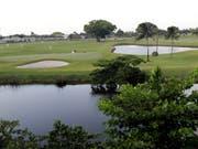 Auch auf der Challenge Tour sind die Golfplätze anforderungsreich (Bild: KEYSTONE/AP/LYNNE SLADKY)