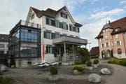 Das Restaurant Traube steht gleich neben dem Gemeindehaus in Neukirch. (Bild: Annina Flaig)
