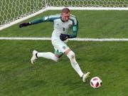 Grosser Karriereschritt für Robin Olsen: Der schwedische Nationalgoalie wechselt vom FC Kopenhagen zur AS Roma (Bild: KEYSTONE/EPA/ABEDIN TAHERKENAREH)