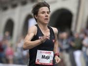 Kein EM-Start wegen Rückenproblemen: Marathonläuferin Maja Neuenschwander (Bild: KEYSTONE/LUKAS LEHMANN)