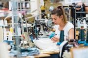 Am Standort Sursee entwickelt Calida neue Kollektionen. (Bild: Eveline Beerkircher (19. Juli 2018))