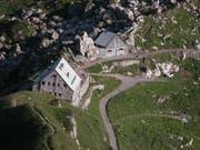Der Wanderunfall geschah in der Nähe der Pfälzerhütte in Malbun. (Bild: pd)