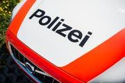 Wegen des Unfalls musste eine Patrouille der Kantonspolizei Thurgau ausrücken. (Bild: Reto Martin)